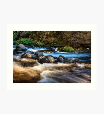Deer Creek Root Beer Falls Art Print