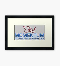 Momentum Alternative Energy Lab Framed Print