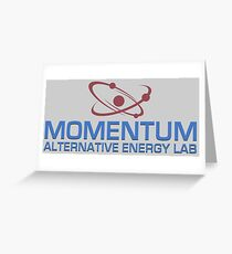 Momentum Alternative Energy Lab Greeting Card