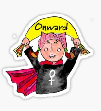 Onward, Girl Sticker