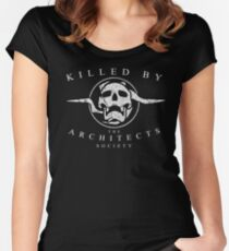 Killed by the Architects Society Women's Fitted Scoop T-Shirt