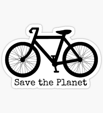 Save The Planet Sticker