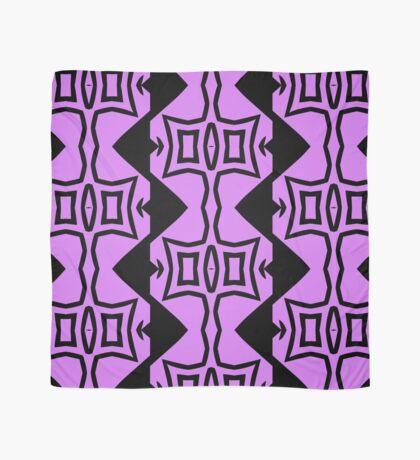 Lavender and Black Design 2 by Julie Everhart Scarf