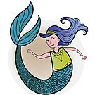 Mermaid Kid by jamylyn