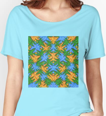 Frozen chanterelles #DeepDream #Art Relaxed Fit T-Shirt