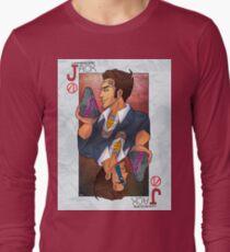 Handsome Jack card Long Sleeve T-Shirt