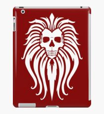 The Manticore (white) iPad Case/Skin