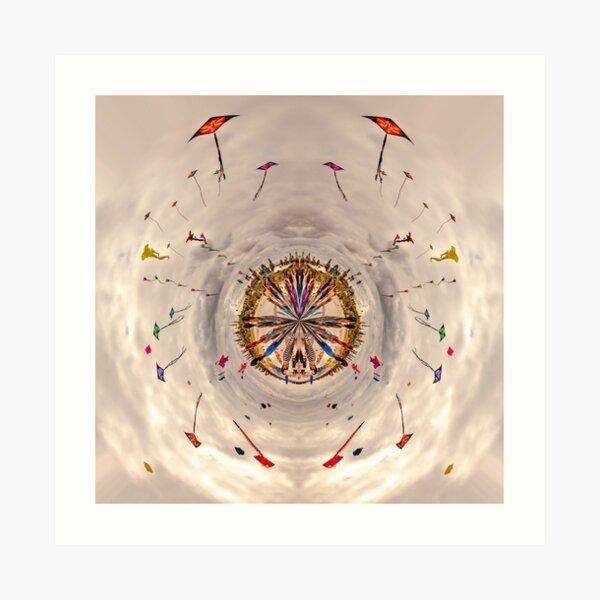 A World Of Kites Art Print
