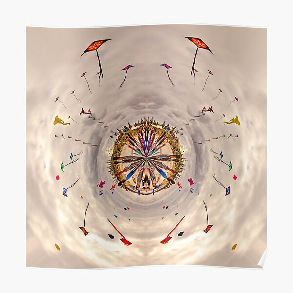 A World Of Kites Poster