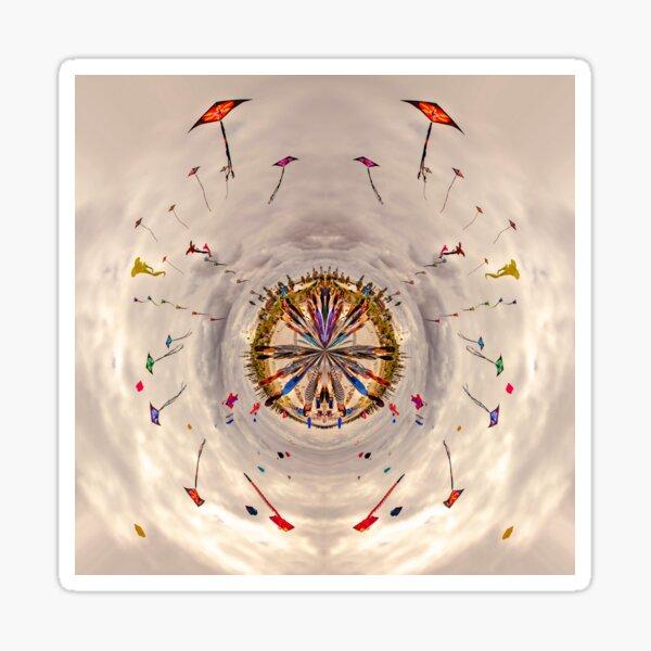 A World Of Kites Sticker