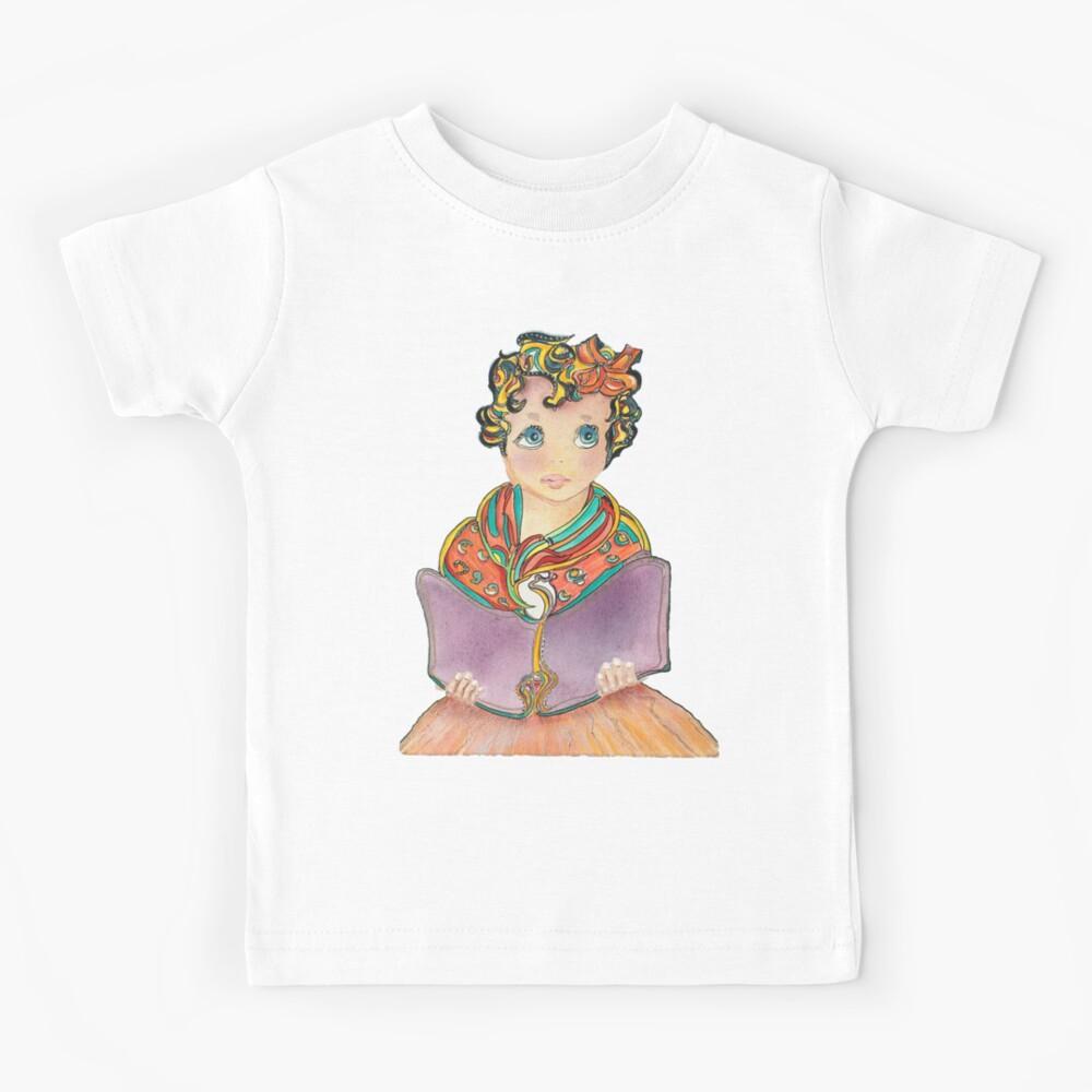Fairy Book Girl Kids T-Shirt