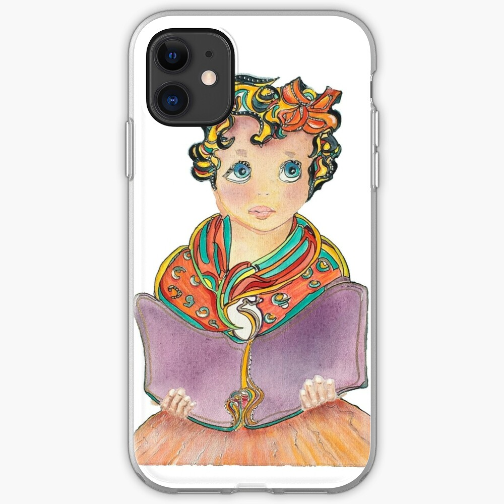 Fairy Book Girl iPhone Case & Cover