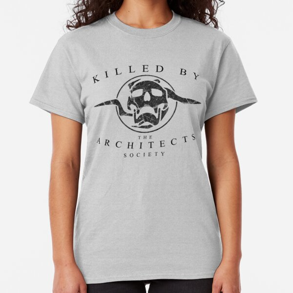 Killed by the Architects Society (white) Classic T-Shirt