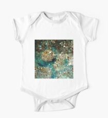 SPARKLING GOLD AND TURQUOISE CRYSTAL Kids Clothes