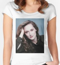 HIGH PRIESTESS MERYL STREEP  Women's Fitted Scoop T-Shirt