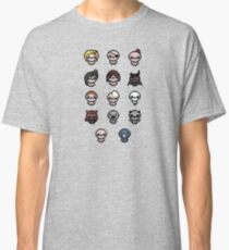 The Binding of Isaac characters + Classic T-Shirt