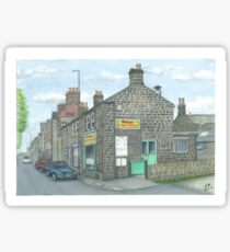 Horsforth Leeds Chinese Takeaway Sticker
