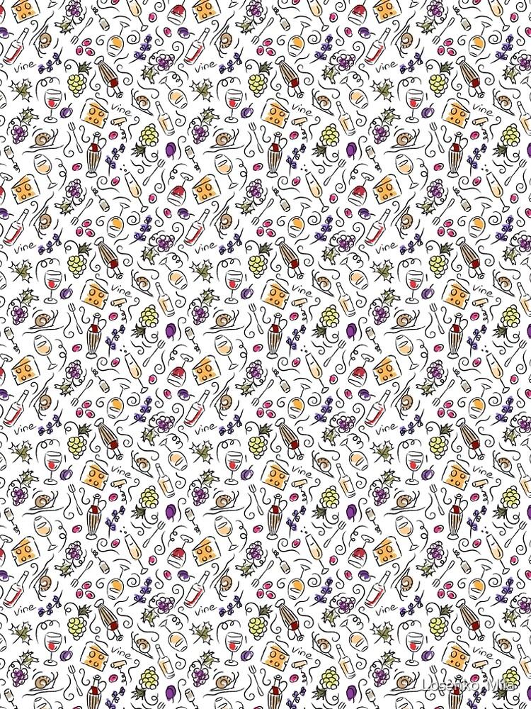 Wine pattern by Losenko