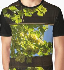 Overhead Grape Harvest - Summertime Dreaming of Fine Wines Graphic T-Shirt