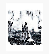 WW11 Allied Soldier Photographic Print
