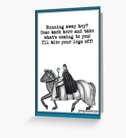 Farewell Greeting Card