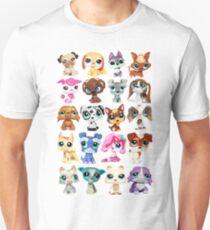 Littlest Pet Shop Dog Collage T-Shirt