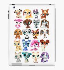 Littlest Pet Shop Dog Collage iPad Case/Skin