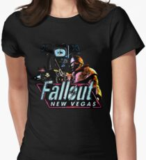 Fallout new vegas 2 Womens Fitted T-Shirt