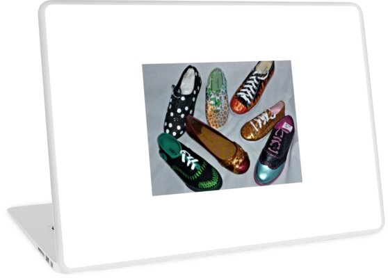 Painted Shoes by ExceptionalSilk