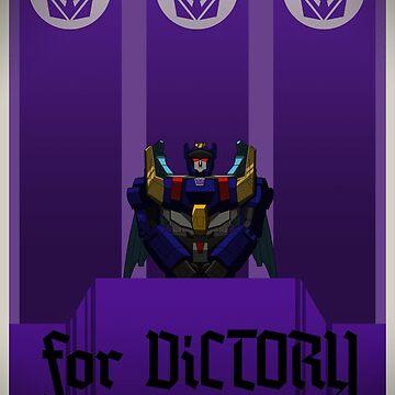 Vote Deathsaurus Prime by Gherkin