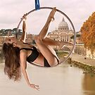 Acrobatics over Rome by Carnisch
