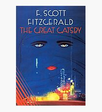 The Great Gatsby By F Scott Fitzgerald Photographic Print