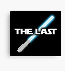 The Last Jedi Lightsaber Shirt Canvas Print