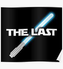 The Last Jedi Lightsaber Shirt Poster