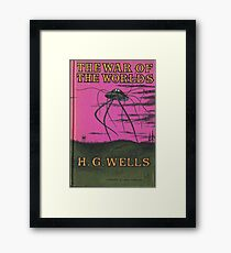 The War of the Worlds by HG Wells Framed Print