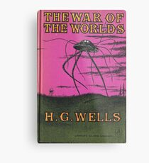 The War of the Worlds by HG Wells Metal Print