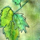Green Leaves by ExceptionalSilk
