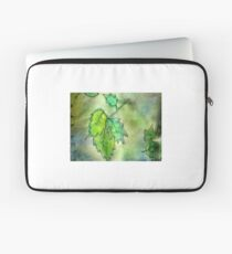 Green Leaves Laptop Sleeve