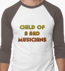 Child of a bad musicians Men's Baseball ¾ T-Shirt