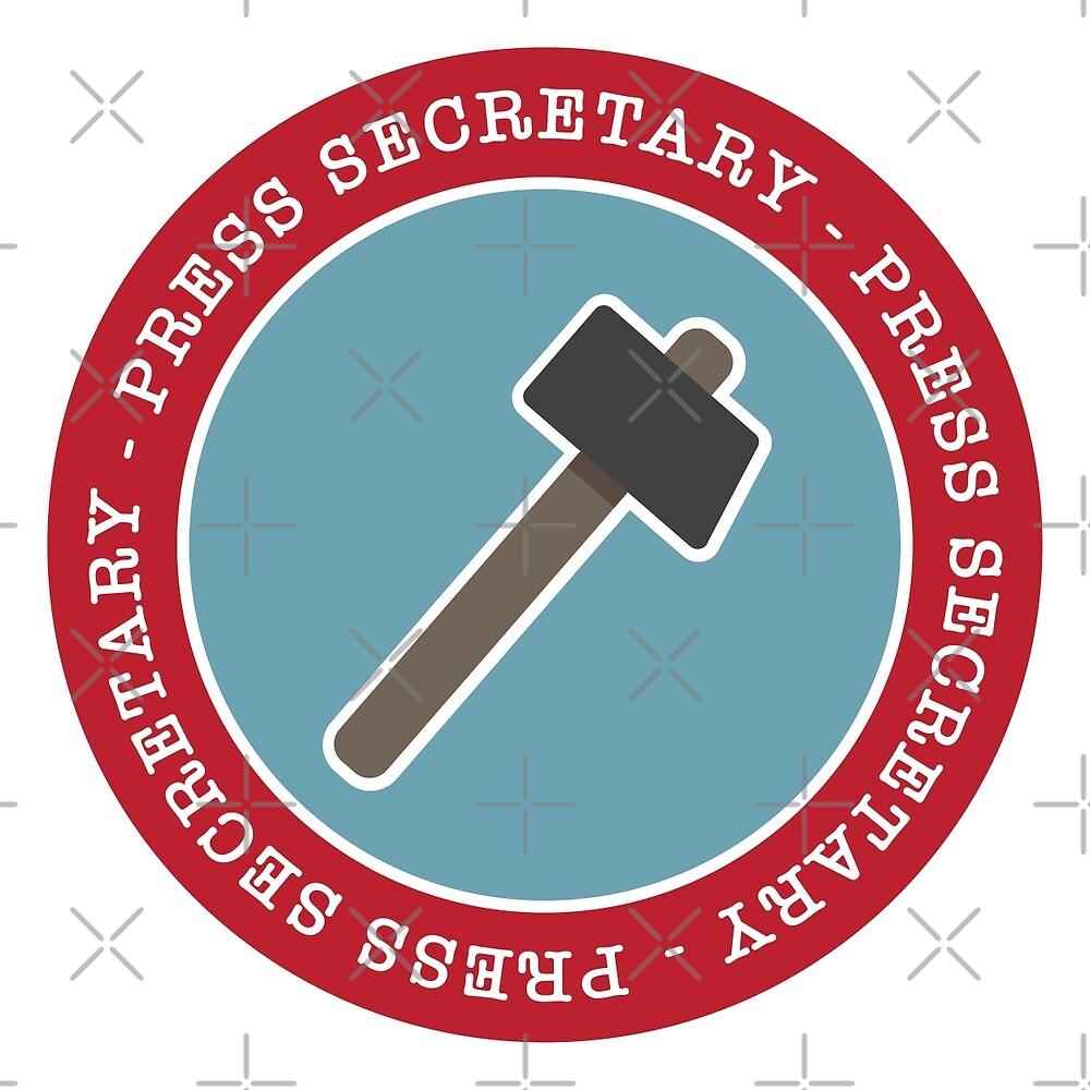 Press Secretary - Dumb as a Hammer by depresident