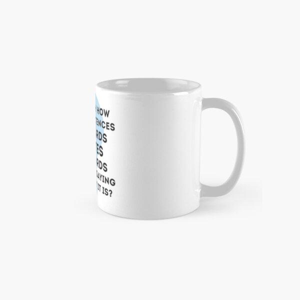 Word Palindrome Classic Mug