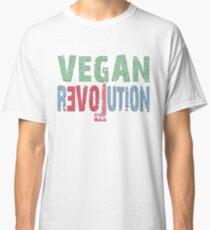 VEGAN REVOLUTION - vegan, vegetarian, animal rights, cruelty to animals Classic T-Shirt