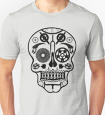 Symmetry Skull (Transparent) Unisex T-Shirt