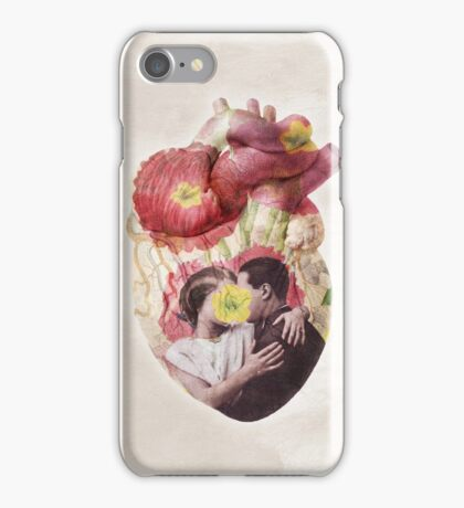 You Are In My Heart - floral version iPhone Case/Skin