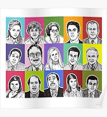 Office cast Poster