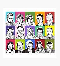 Office cast Photographic Print