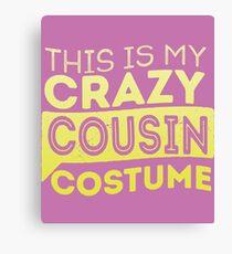 Cousin Costume  Canvas Print
