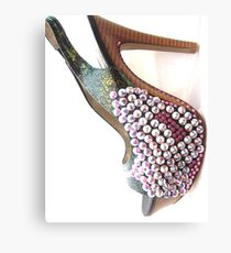 Bling Heels Canvas Print