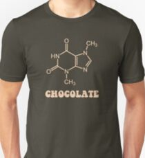 Scientific Chocolate Element Theobromine Molecule Unisex T-Shirt