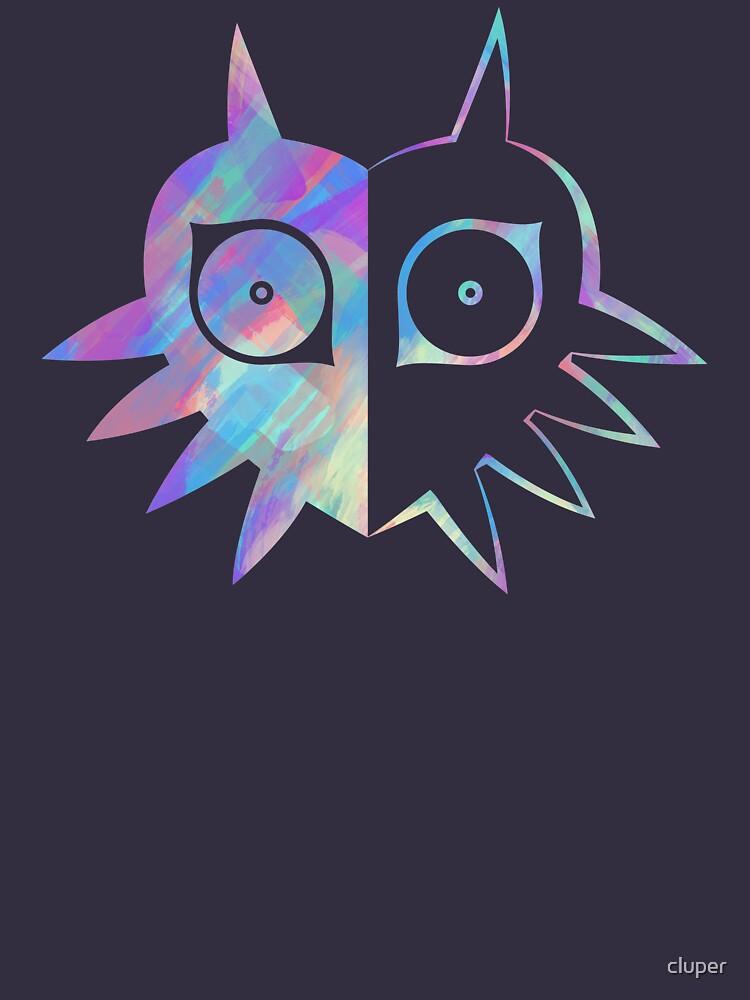 Majora's Mask Half Color | Unisex T-Shirt